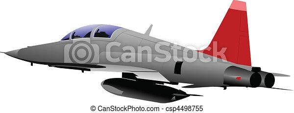 Air force team. Vector illustratio - csp4498755