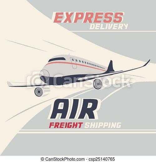 Air freight international shipping - csp25140765