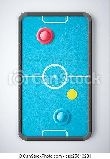 Air Hockey Table - csp25810231