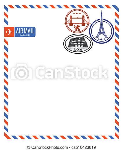 Air Mail - csp10423819