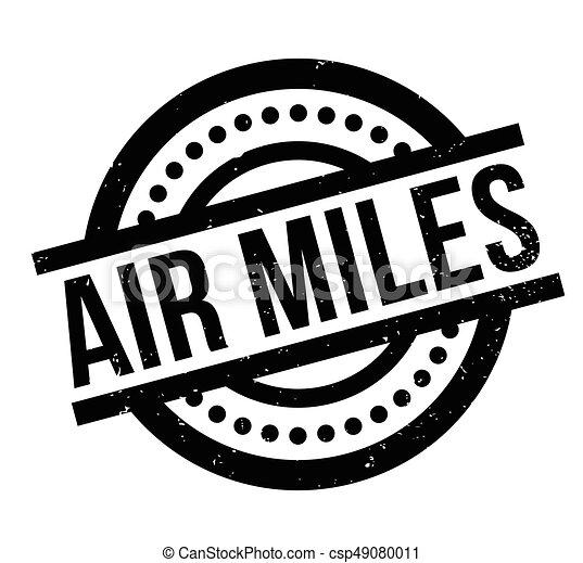 Air Miles rubber stamp - csp49080011