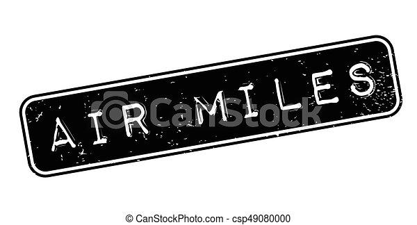 Air Miles rubber stamp - csp49080000