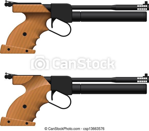 Air Pistol - csp13663576