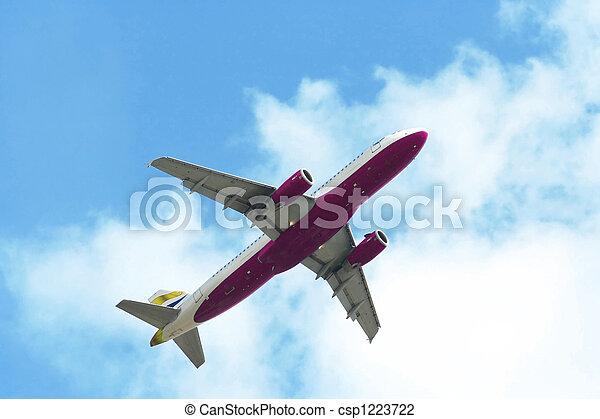 air plane - csp1223722