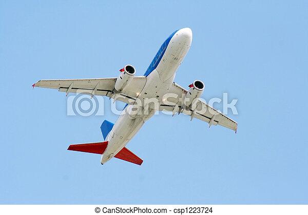 air plane - csp1223724