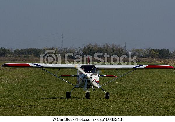 air plane - csp18032348