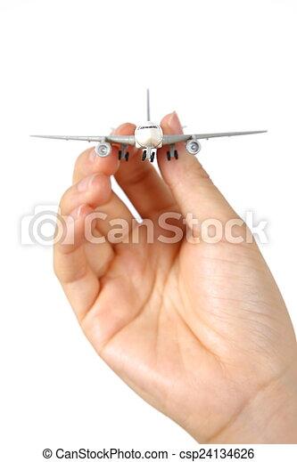 air plane - csp24134626