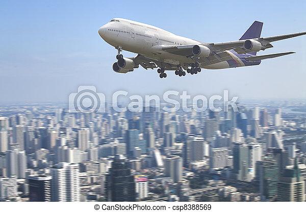 air plane - csp8388569