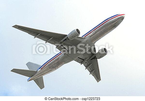 air plane - csp1223723