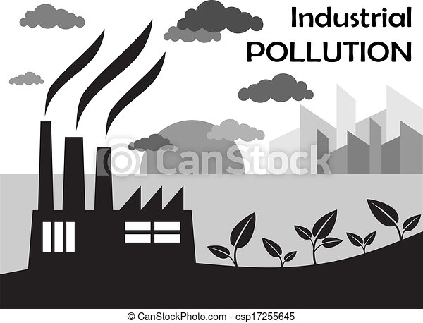 Air pollution of factory csp17255645