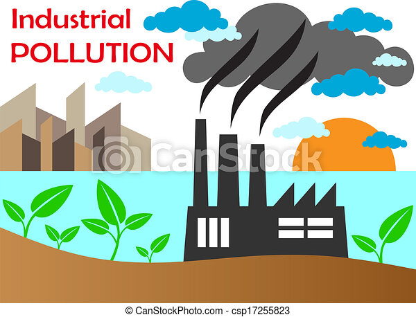 Air pollution of factory csp17255823