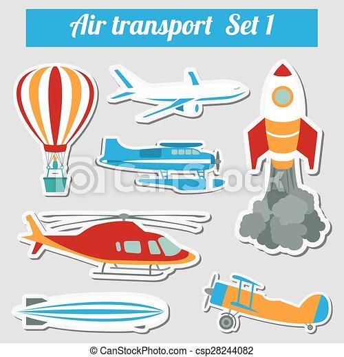 Air transportation - csp28244082