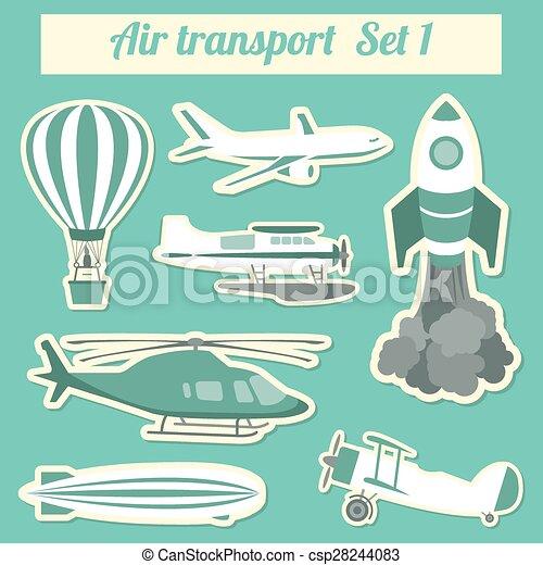 Air transportation - csp28244083