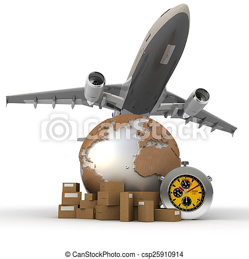 Air transportation - csp25910914