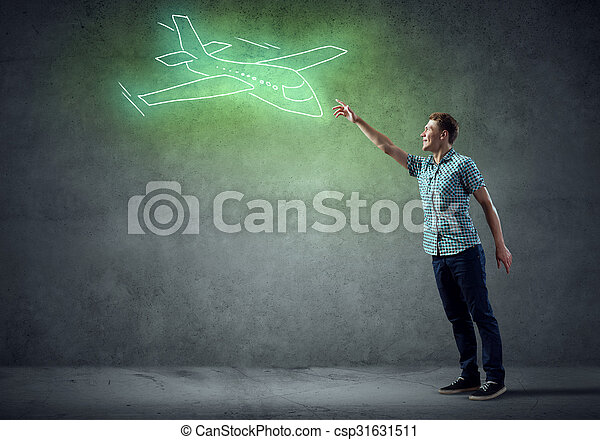 Air transportation - csp31631511