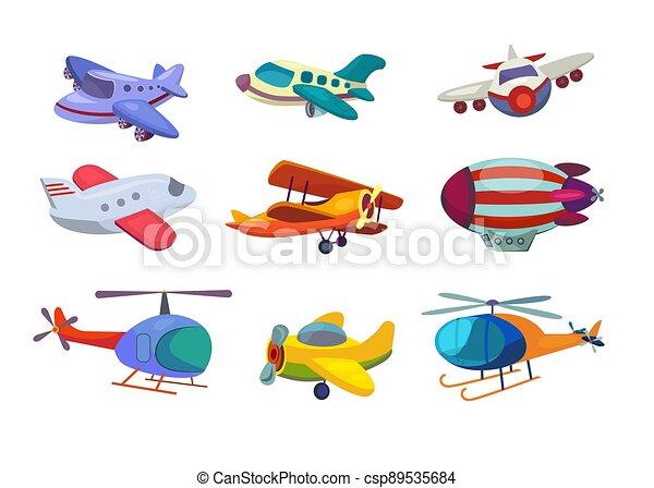 Air transportation set - csp89535684