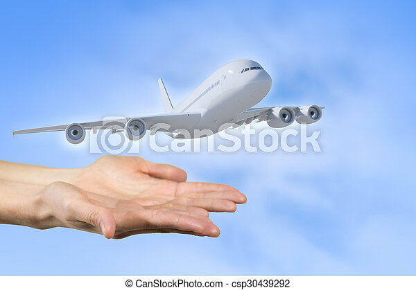 Air transportation - csp30439292