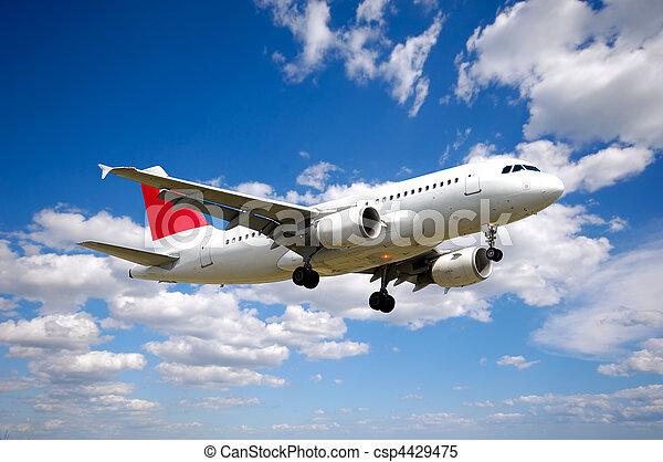 Air travel - csp4429475