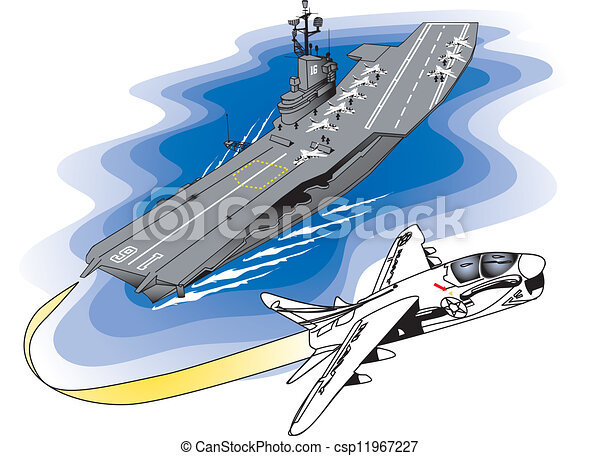 uss lexington aircraft carrier vector illustration search clipart rh canstockphoto com navy aircraft carrier clipart us aircraft carrier clipart