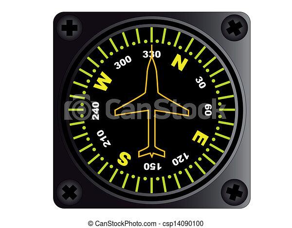 Aircraft Compass - csp14090100