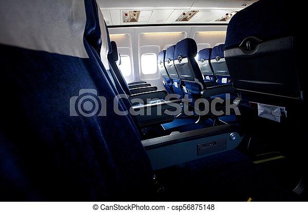 Aircraft indoor - csp56875148