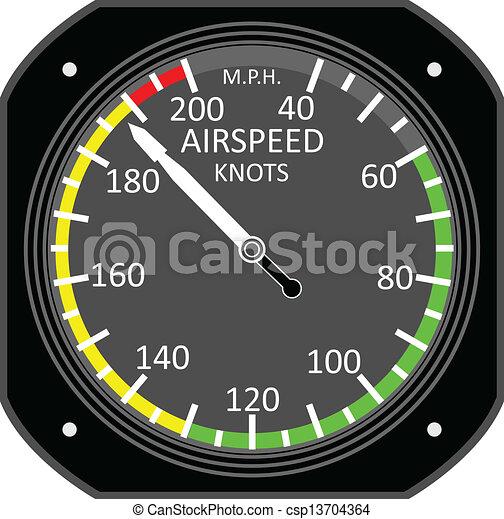 Aircraft instrument. - csp13704364