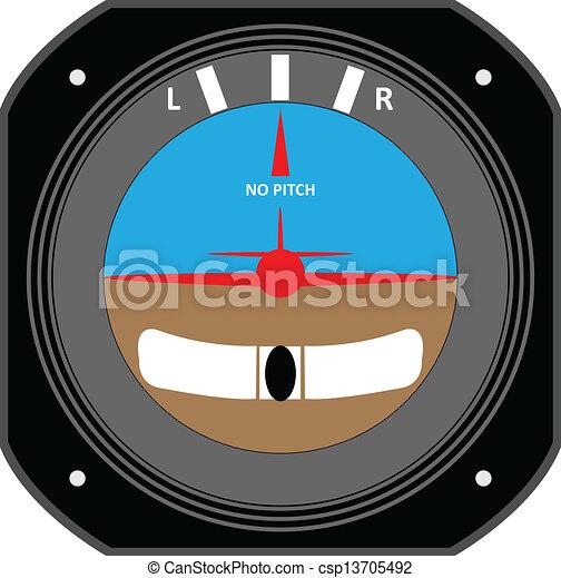 Aircraft instrument. - csp13705492