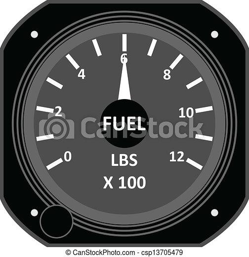 Aircraft instrument. - csp13705479