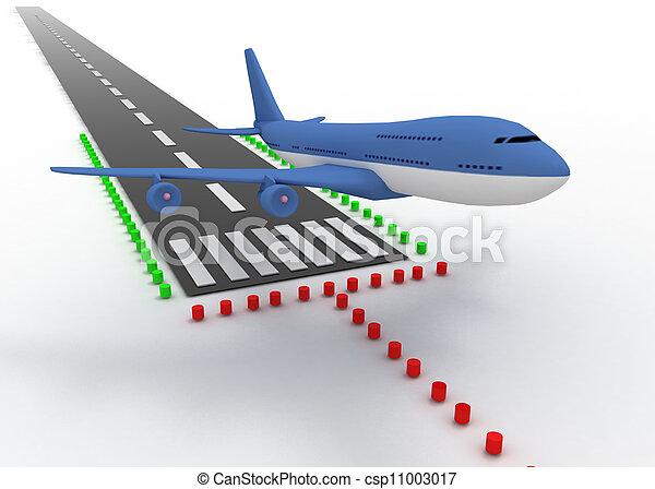 aircraft take off - csp11003017