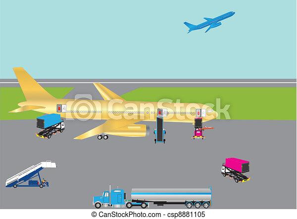 Airliner - csp8881105