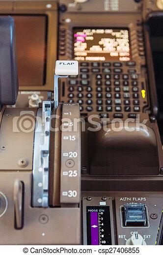 Airliner cockpit details - csp27406855