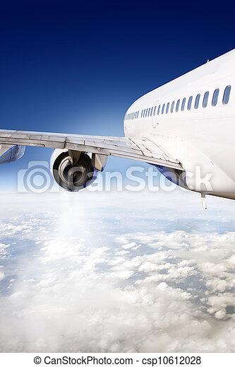 airliner, vôo - csp10612028