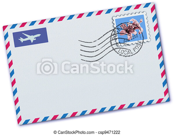 airmail envelope - csp9471222