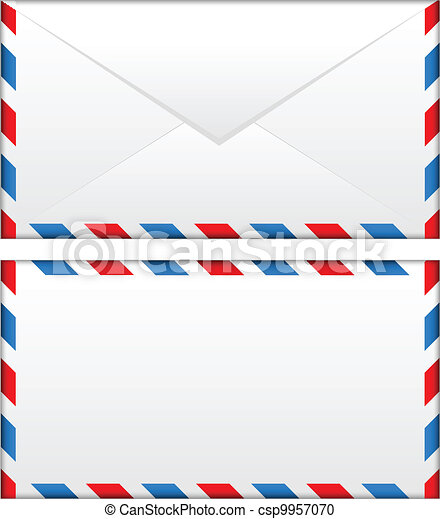 airmail envelope - csp9957070