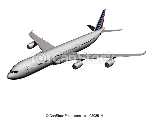 airplane - csp0308914