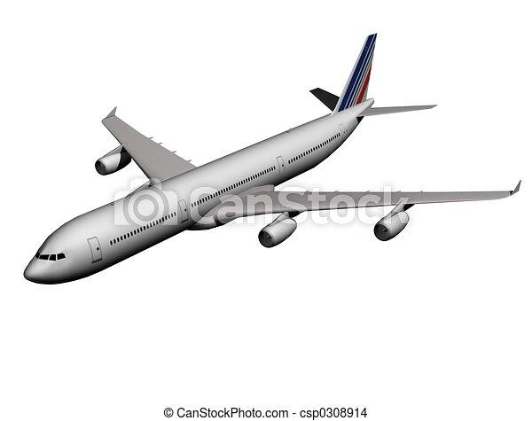 airplane - csp0308914