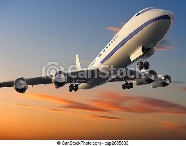 Airplane - csp2685833