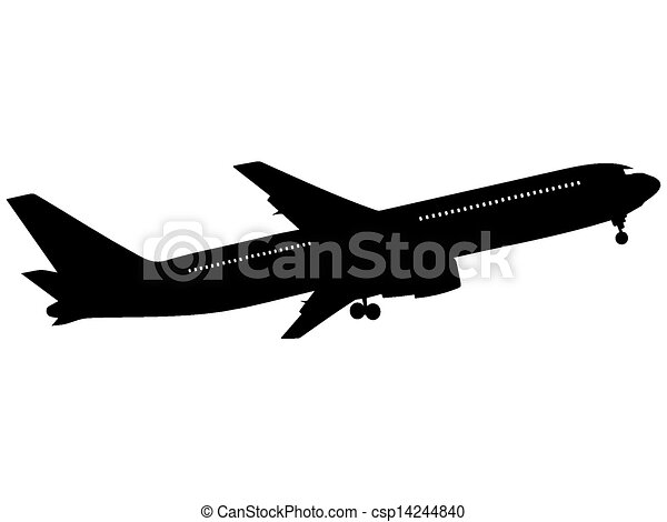 airplane - csp14244840