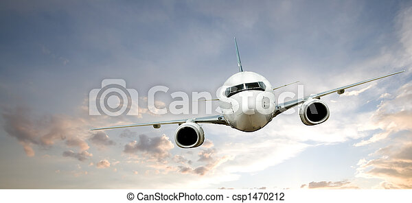 Airplane Flight - csp1470212