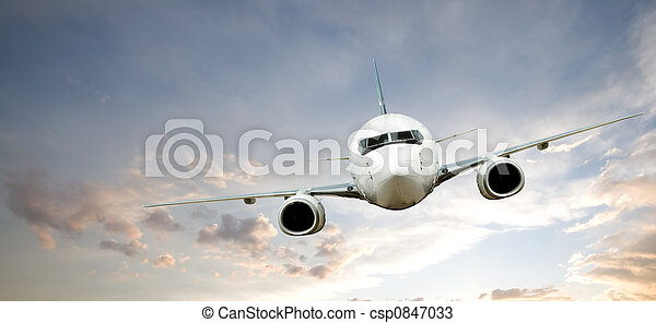 Airplane Flight - csp0847033