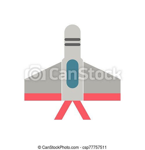 airplane military force isolated icon - csp77757511