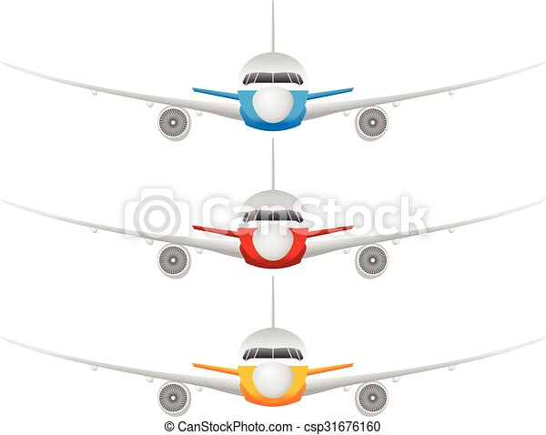Airplane set - csp31676160
