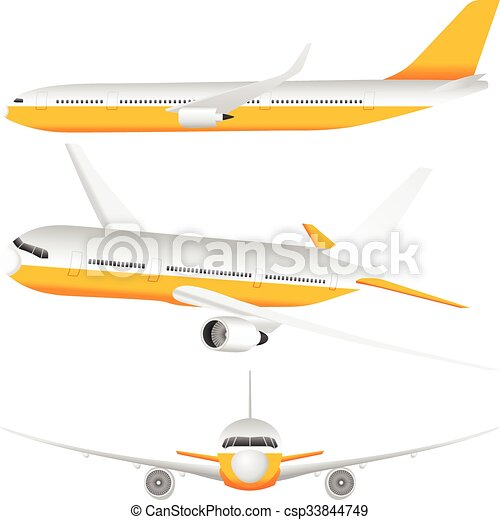 Airplane set - csp33844749