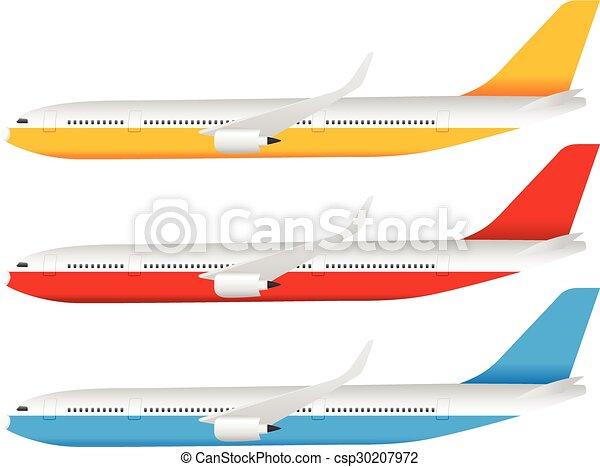 Airplane set - csp30207972