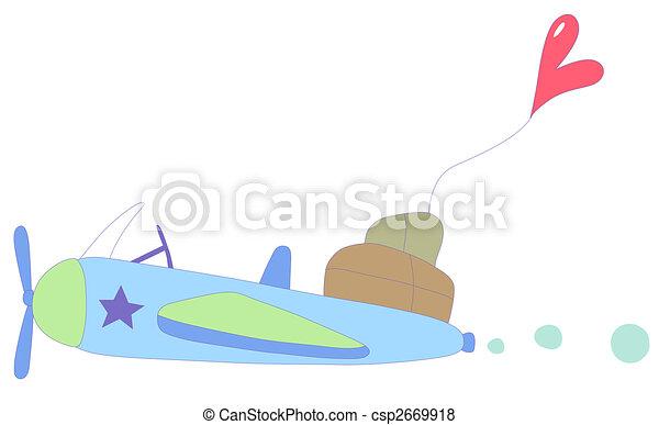 airplane - csp2669918