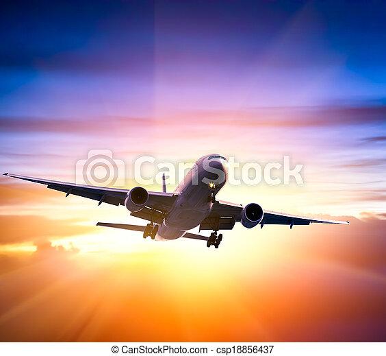 airplane - csp18856437