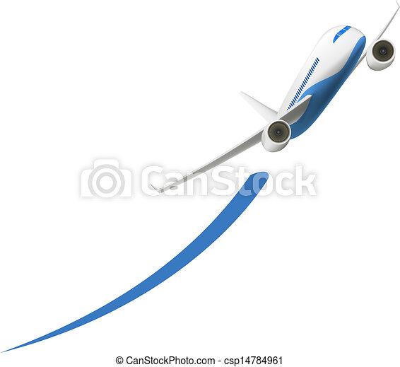 Airplane Takeoff - csp14784961