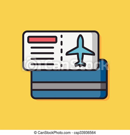 airplane ticket vector icon clip art vector search drawings and rh canstockphoto com free clipart plane ticket