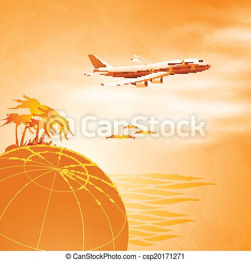 airplane travel - csp20171271