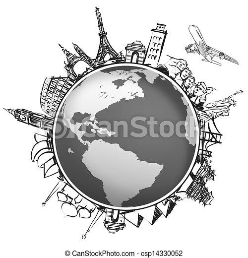 Peace around the world, vector illustration vectors - Search Clip ...
